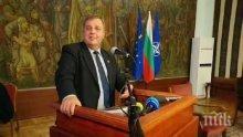 """Вицепремиерът Красимир Каракачанов ще участва в церемония по въвеждане в експлоатация на тренажор на самолет """"Пилатус"""""""