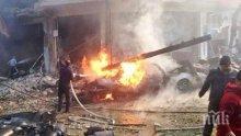 Поне четирима души са загинали след артилерийски бомбардировки по турски градове от страна на кюрдските сили в Сирия