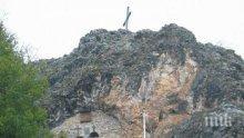САМО В ПИК! Уникален скален параклис над Трън прави чудеса (СНИМКИ)