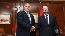 ПЪРВО В ПИК TV: Борисов доволен от визитата си в Йордания: За няколко часа свършихме работа за три дни (ОБНОВЕНА)