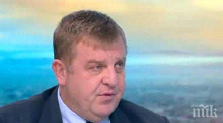 Красимир Каракачанов: Ситуацията по границата е спокойна. Има готовност да се реагира, но към момента няма необходимост