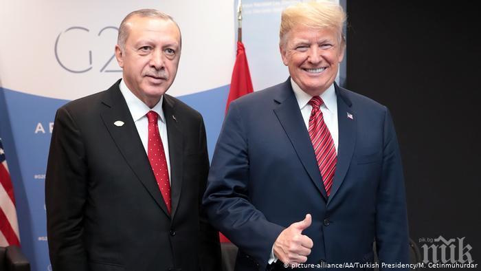 Тежък разговор: Тръмп с ултиматум към Ердоган, наложи санкции срещу Турция