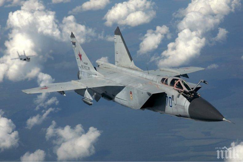 Руски изтребители проведоха учебни полети в Японско море
