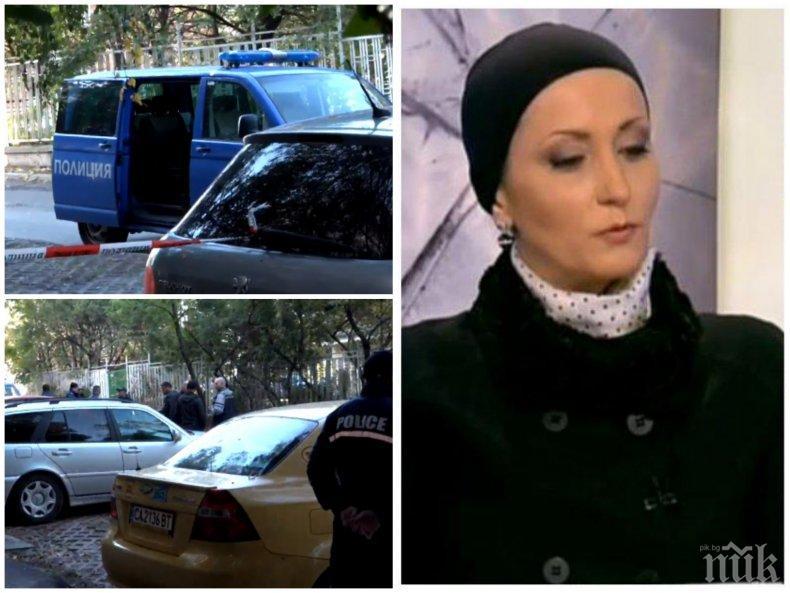 САМО В ПИК: Финансовата фараонка Марангозова гръмната с 9-милиметров пистолет в главата - бялата роза до трупа й е изкуствена, познавала е убиеца