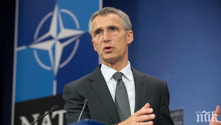 Столтенберг: НАТО няма да изключи Турция