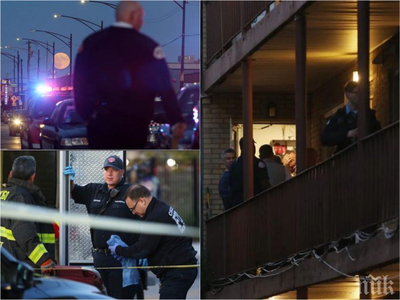 ОТ ПОСЛЕДНИТЕ МИНУТИ: Жертвите след разстрела в Чикаго вече са пет - децата на Ивайло и Цветанка събират пари за погребението им (ВИДЕО/СНИМКИ)