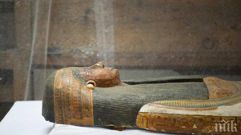 ЖИВОТ ОТВЪД: В египетски саркофаг намериха карта за задгробния свят