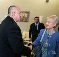 ИЗВЪНРЕДНО В ПИК: Английската посланичка Ема Хопкинс със силни думи за реакцията на Борисов по расисткия скандал
