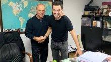 Митко Пайнера прилапа супер звезда на Гърция
