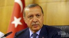 Ердоган заплаши да поднови операцията в Сирия