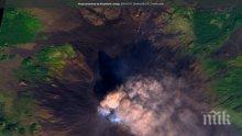 Вулканът Етна изригна отново (ВИДЕО/СНИМКА)