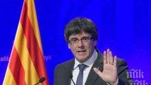 Белгия остави Карлес Пучдемон на свобода