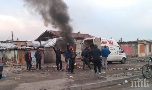 МОСВ: Глоба до 5000 лева за онези, които горят гуми, за да се топлят през зимата