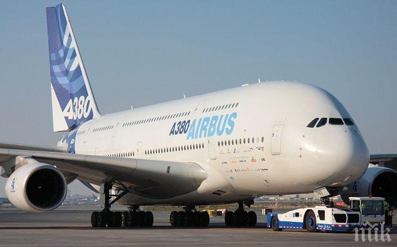 """Швейцарска авиокомпания спря 29 самолета """"Еърбъс"""" заради проблем с двигателите"""