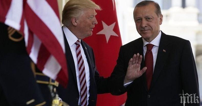 Тръмп с кърваво писмо до Ердоган за Сирия: Ще те запомнят като дявол, ако...
