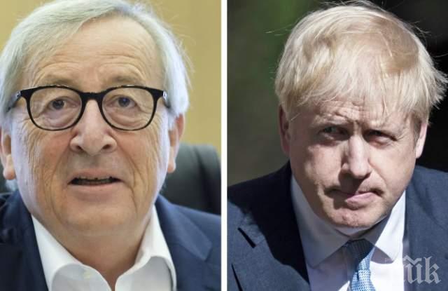 """ИЗВЪНРЕДНА НОВИНА: Имаме Брекзит! Борис Джонсън и Юнкер подписаха """"балансирана сделка"""""""