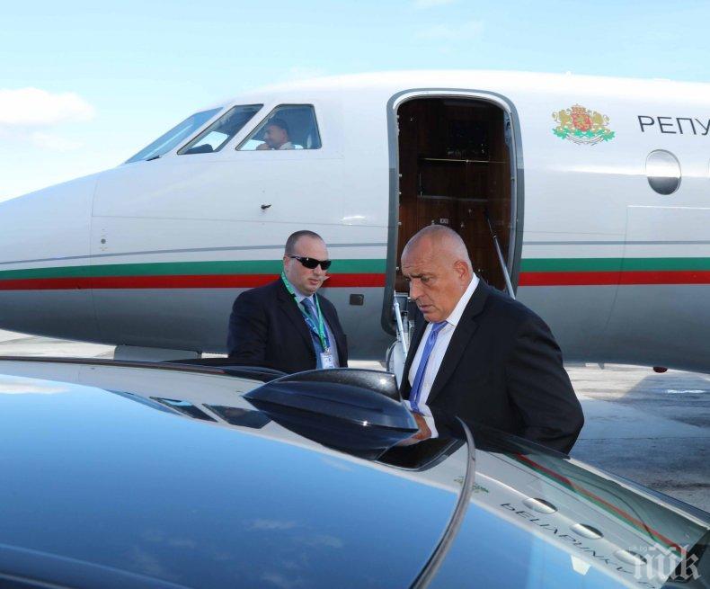 ПЪРВО В ПИК: Борисов пристигна в Брюксел