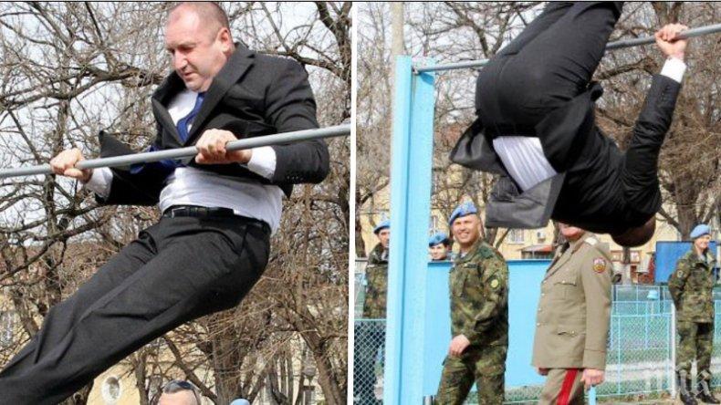 """Лъхна на соц от Румен Радев! Президентът с инициатива от времето на Тодор Живков - възражда """"Бързи, смели, сръчни"""""""