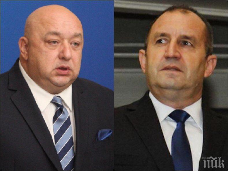 ПЪРВО В ПИК: Красен Кралев разби Румен Радев - президентът за пореден път проявил некомпетентност