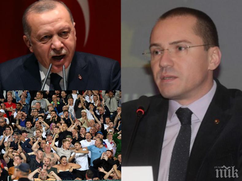 ГОРЕЩА ТЕМА: Джамбазки с остър коментар за мача България - Англия и напрежението в Сирия
