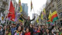 В Германия протестират срещу турската офанзива в Сирия