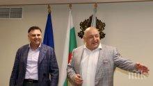 Спортният министър Красен Кралев категоричен: Няма да се кандидатирам за президент на БФС