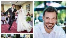 """СЛЕД 7 ГОДИНИ БРАК: Ивайло Захариев пред развод с жена си - звездата от """"Пътят на честта"""" се изнесе на ергенска квартира"""