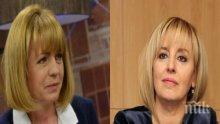 """ГОРЕЩО В ПИК! Ново проучване на """"Сова Харис"""": Фандъкова отвява Манолова с 10% - балотажът е под въпрос (ГРАФИКИ)"""