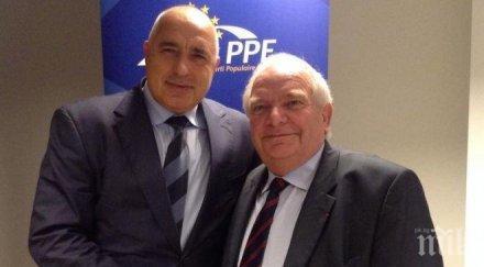 И Жозеф Дол със суперлативи: Усърдната работа на премиера Бойко Борисов се изплати и донесе прогрес на България