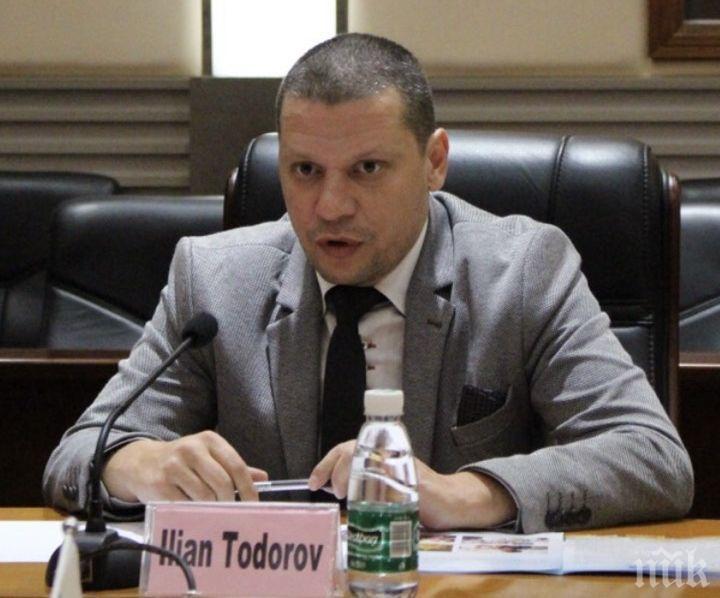 Илиан Тодоров от Пекин: Милиони китайски туристи идват в София, ако Волен Сидеров стане кмет