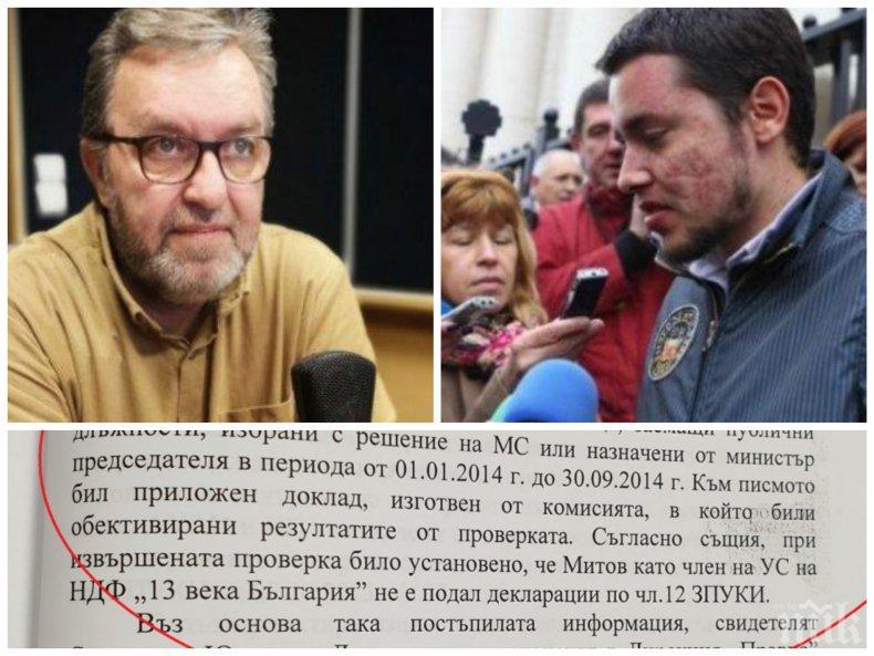 РАЗКРИТИЕ НА ПИК: Новият шеф на радиото осъден за конфликт на интереси - соросоидът Антон Митов се крил от властите (ДОКУМЕНТИ)