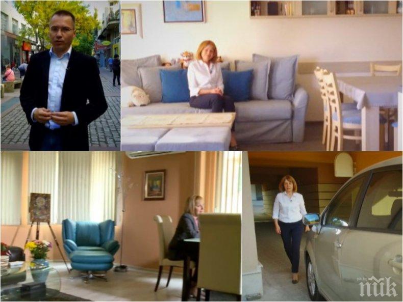 ДЕБАТЪТ ЗА СОФИЯ: Джамбазки скочи на Игнатов от ДеБъ за гаврата на Тома Белев с евреите - кандидатите показаха домовете си