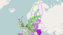 Северозападът вече не е най-бедният регион в Европа