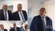 """ПЪРВО В ПИК TV: Премиерът Борисов посети супермодерната клиника по изгаряния в """"Пирогов"""" - премиерът с ужас си спомни как е вадил хора от пожарите (ОБНОВЕНА/СНИМКИ)"""