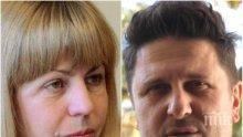 УДАРНА ПОДКРЕПА: Асен Блатечки удари рамо на Йорданка Фандъкова (ВИДЕО)