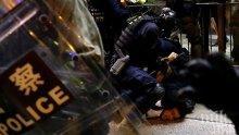 Протестите докараха рецесия на Хонконг