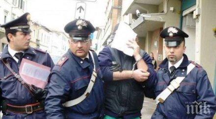Арестуваха българин за кражба на луксозна кола в Сицилия