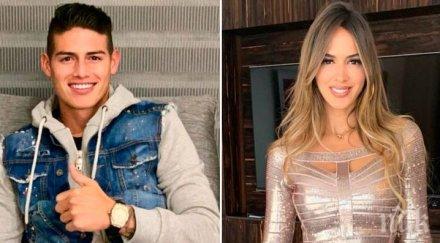 Мистериозна дама роди син на звезда на Реал (СНИМКА)