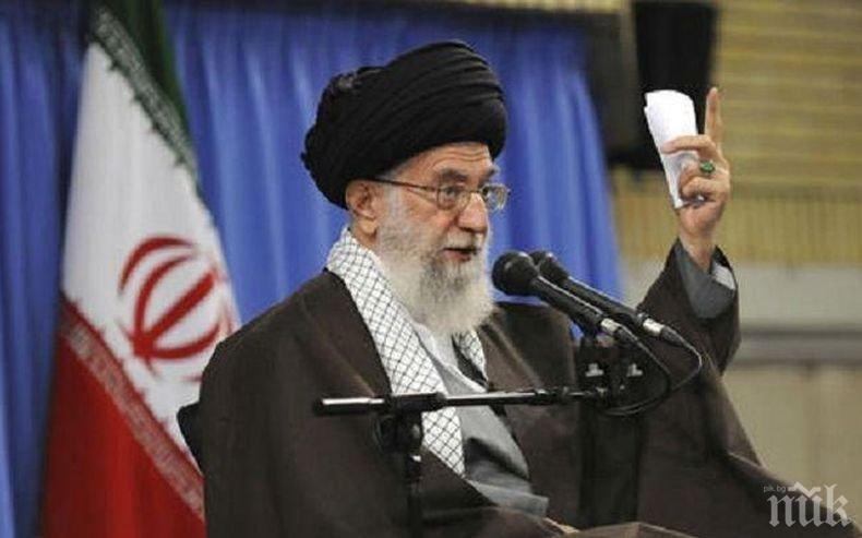 Върховният лидер на Иран: Народът в Ирак и Ливан има справедливи искания
