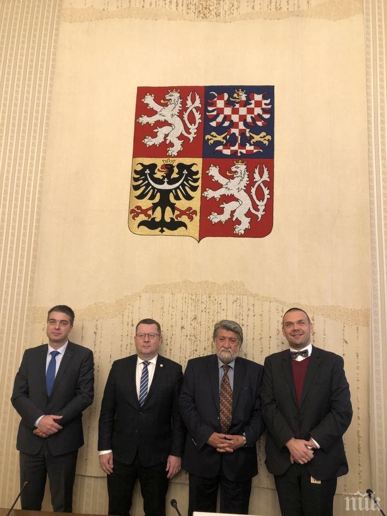 Чехия подкрепя Вежди Рашидов за общ европейски стандарт в опазването на културното наследство