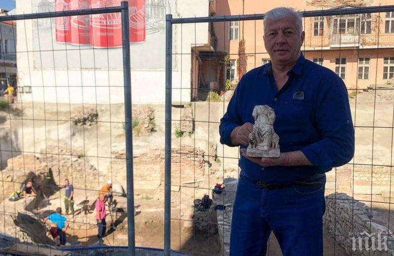 Археолози откриха уникална статуя на Богинята майка Кибела
