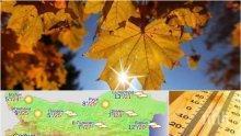 ТОТАЛЕН ШОК: Времето се преобръща с главата надолу! Южнякът нахлува с 27 градуса през уикенда
