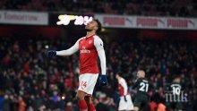 На изчакване: Ключов нападател на Арсенал не бърза с нов договор