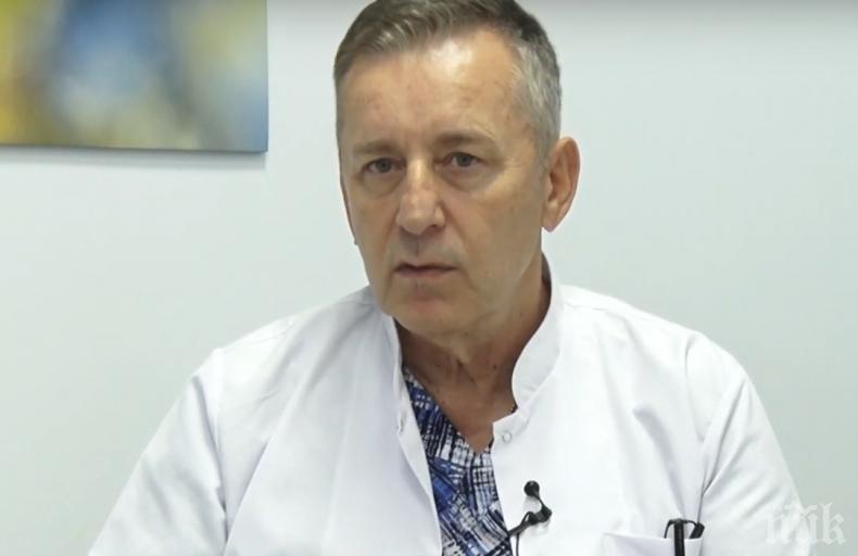 ГОРЕЩО В ПИК: Светилото на медицината проф. Григор Горчев повежда листата на ГЕРБ в Плевен