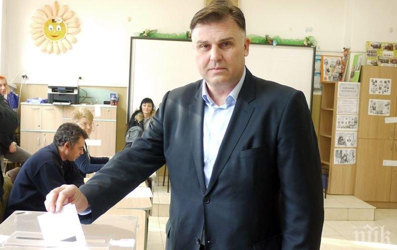 ПЪРВО В ПИК: Мирослав Петров: Надявам се плевенчани да направят правилния избор