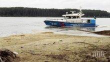 Десетки кораби са блокирани край Свищов заради нивото на Дунав