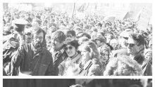 """10 ноември 30 години по-късно! Лозунгът """"Утре започва от днес"""" бил реклама на погребална агенция"""