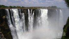 ЖЕСТОКА СУША: Пресъхва най-големият водопад в Африка, измират животни (ВИДЕО)