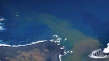 Изригнал вулкан създаде нов остров на Тонга