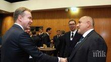 ПЪРВО В ПИК: Премиерът Борисов с важни новини за Западните Балкани (СНИМКИ)